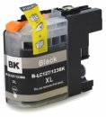 Druckpatrone Black kompatibel für Brother LC-123 LC123 LC-127 LC127 LC-125XL mit Chip